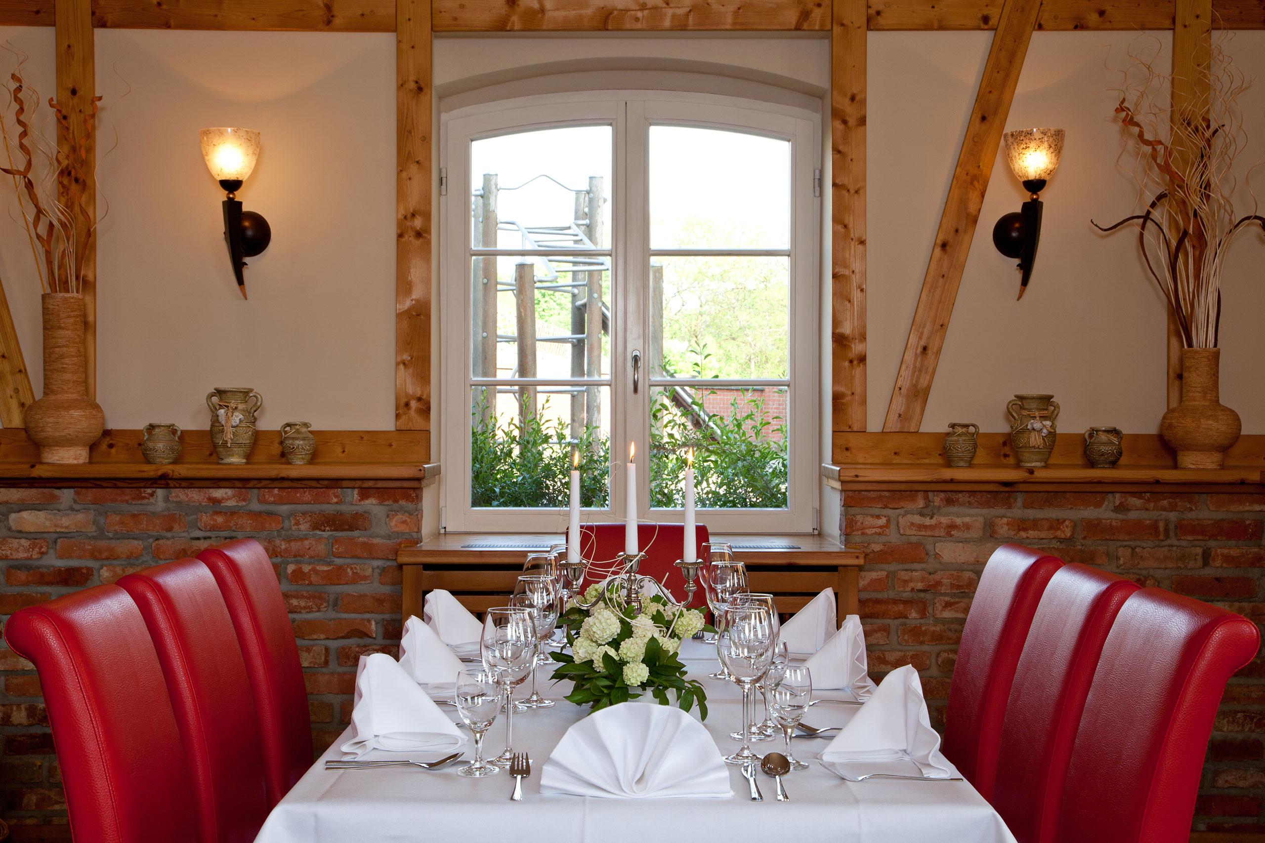 Familienfeier festliche Abendtafel